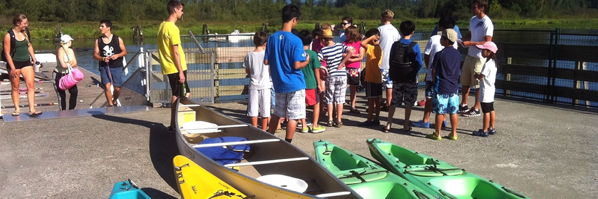 Popular BCKC CanoeKids every summer at BCKC!